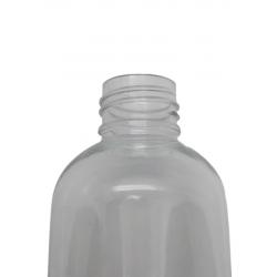 100 ml black matte glass bottle