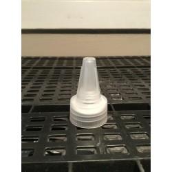 60 ml clear twist cap PET bottle